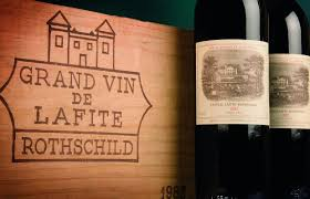 Image result for bottle of chateau lafite and a house