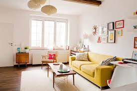 amazing white wood furniture sets modern design: view in gallery beautiful simple modern living room design ideas yellow