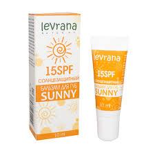 <b>Бальзам для губ</b> солнцезащитный Sunny <b>15</b> SPF Levrana ...