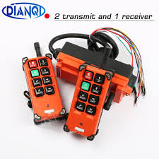 <b>industrial remote controller switches</b> 2 transmitter + 1 receiver ...