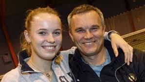 """Hverken Caroline eller Piotr Wozniacki har tænkt sig at læse """"Miss Sunshine"""" (Foto: All Over) - caroline%2520og%2520piotr%2520wozniacki%2520jpg"""