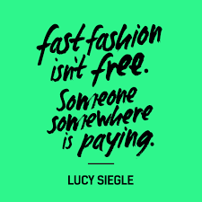 fashion revolution what is fast fashion grey rock clothing co recently fellow staff and future ryerson fashion student kiara julien wrote a fantastic short essay for her portfolio on fast fashion