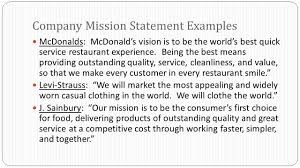 business plan company profile legal form of business effective 6 mcdonalds