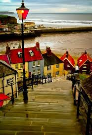 england style steps: the  steps in whitby england