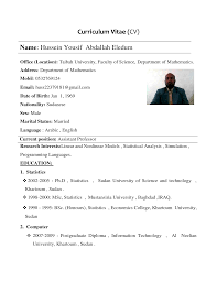 curriculum vitae sample template socceryourself com sample curriculum vitae template as doc doc by dc6od9 glxcttlx