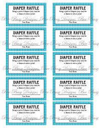 printable boys birthday raffle ticket printable baby printable boys birthday raffle ticket printable blue gingham diaper raffle tickets great for baby showers