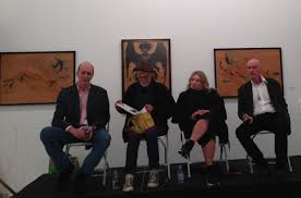the uncensored story of occultist artist marjorie cameron observer panel members l to r william breeze allen midgette cynthia macadams and scott hobbs photo cameron parsons foundation
