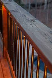 create diy deck lights using rope light screw in clips and a screwdriver blog 3 deck accent lighting