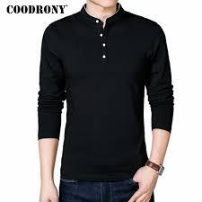 <b>COODRONY T Shirt Men</b> 2019 Spring Autumn New Cotton T Shirt ...