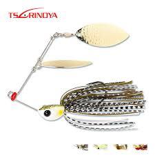 <b>TSURINOYA</b> Buzzbait Metal Spoon Jig Fishing Lure <b>brand</b> 7g/10g ...