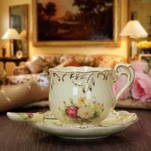 Керамическая кофейная <b>чашка с блюдцем</b>, английская чашка для ...
