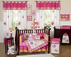 girl crib bedding sets pink baby girl nursery furniture