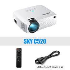 BYINTEK C520 Mini HD Projector Optional Android 10 TV Box ...