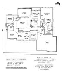 Bedroom House Plans With Bonus Room Above Garage