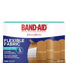 Band-Aid Brand Flexible Fabric Adhesive Bandages Assorted Size ...