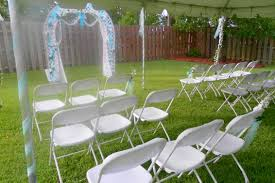 image of backyard wedding ideas for summer backyard wedding ideas