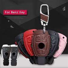 <b>KUKAKEY</b> Car Key Cases For Mercedes Benz Accessories W203 ...