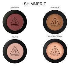 Сверкающие <b>моно-тени для век</b> 3CE One Color Shadow (Shimmer ...