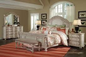 l affordable master bedroom decorating ideas with chalk paint wooden king bedroom furniture and beige top fabric foam bench bedrooms placed on orange bedroom furniture painted