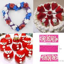 Baking <b>Tools</b> Floral Lace Pattern Mold Fondant <b>Cake Decorative Tool</b>