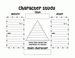 character analysis essay graphic organizer coloring pages  buzzing ms colouring pages for kids 7 character analysis