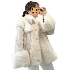 Real Fur Coat Women Clothes 2018 Autumn Winter Wool Fur Coats ...