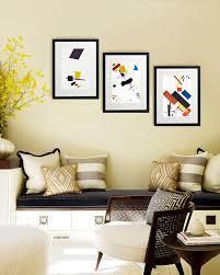 living room wall decor framed artwork