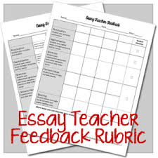 excellent short stories for middle schoolmy free gift to you  the essay teacher feedback rubric get rid of useless rubrics