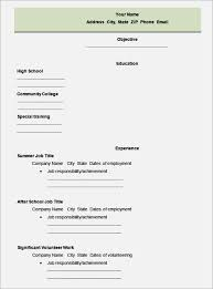 resume example college students high school resume template resume ... Job Resume Template Job Resume Examples Job Resume Template Word Job Resume Template High School