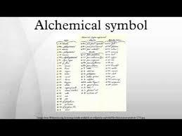 <b>Alchemical symbol</b> - YouTube