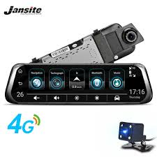 """<b>Jansite</b> 3G <b>4G</b> WIFI Car DVR <b>10</b>"""" <b>Touch</b> Screen Android Car ..."""