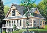 Lake House Plans   Coastal Home Plans