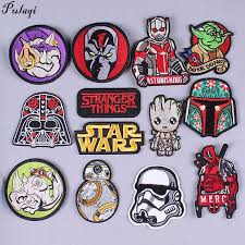 Star Wars Patch Space Robot Embroidered Patch Ironing Stickers ...