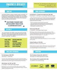 interactive designer resume examples