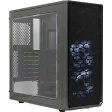 <b>Корпус Fractal Design FOCUS</b> G Black без БП с окном — купить ...