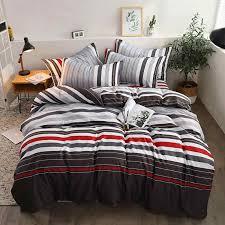 Серый, белый, оранжевый, <b>черный</b> комплект постельного белья ...