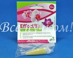 Удобрения <b>EffectBio</b>: <b>цитокининовая паста</b> для орхидей 1,5 мл