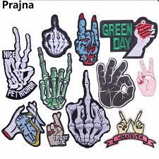 <b>Prajna</b> Star Wars <b>Patch</b> Finger Hand Biker Skeleton Punk <b>Rock</b> ...