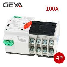 geya w2r mini ats 2p automatic transfer switch electrical selector switches dual power 63a 100a dp