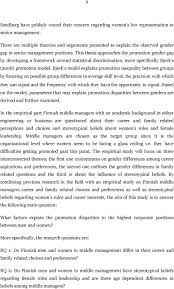 why are so few women promoted into top management positions pdf this thesis approaches the promotion gender gap by developing a framework around statistical discrimination more