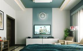 Teal Bedroom Decorating Wall Paint Two Colors