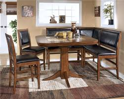 piece kitchen table sets bench dining table set corner