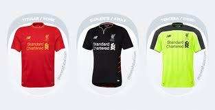 Resultado de imagen de camisetas liverpool 2017