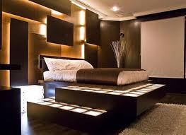 awesome dark brown wood unique design amazing bedroom modern wood bed wall lamp wood floor white amazing bedrooms designs