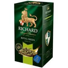 <b>Зеленый чай</b> в пакетиках <b>Richard Royal green</b> | Отзывы ...