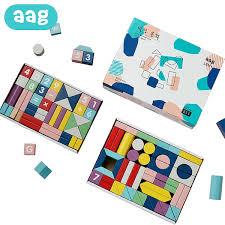 Buy <b>AAG</b> Building Blocks Colorful DIY Blocks <b>Baby</b> Kids Intelligence ...