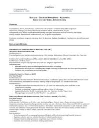 administrative and management resumefree resume templates
