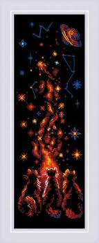 <b>Набор для вышивания</b> крестом «<b>Магия</b> ночи» (1892) | Мелочи ...