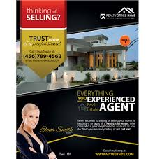 real estate flyer designs real estate agent flyer designs real estate flyers rsd fl 103