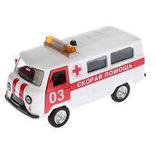 <b>Машина</b> Скорая помощь <b>инерционная</b> Технопарк 123580 - купить ...